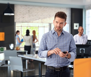 Apple and Cisco are connecting personal mobile phones with office infrastructure.