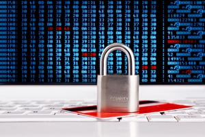 Encryption services keep valuable financial data secure.
