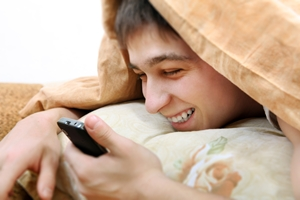 Research suggests using your phone before bed could make it tougher to fall asleep.