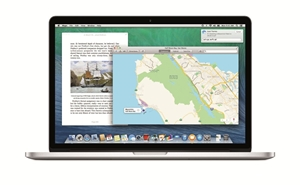 There are several enterprise specific features of Mac OS X Mavericks.