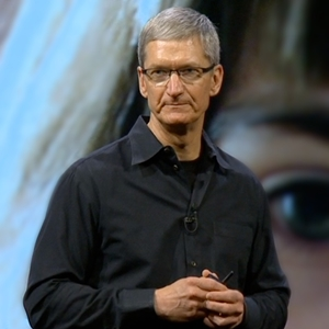 Tim Cook has been Apple's CEO for just under three years.
